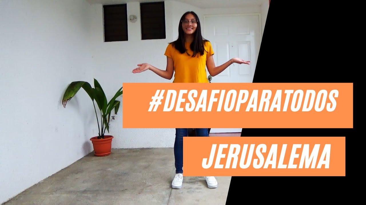 Jerusalema [Tutorial Coreografía] #DesafioParaTodos