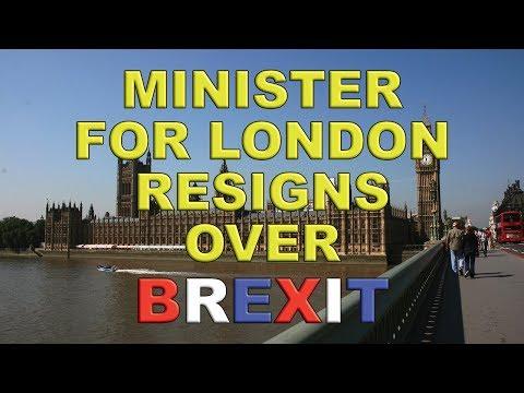 Transport Minister Jo Johnson Resigns Over Brexit!