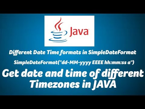 Get date and time of different Timezones in JAVA