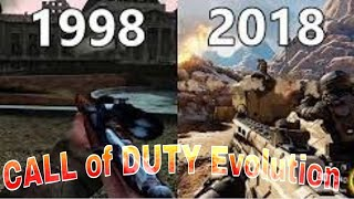 Evolution of all CALL OF DUTY games (2003-2018) latest