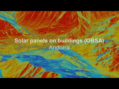 Solar panels on Building (OBSA) - Andorra (english)