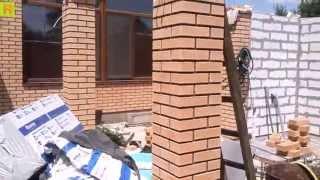 Как утеплить кирпичную колону (тепловер) стройка(Один из способов утепления пустотелых, кирпичных колон..., 2015-07-29T17:30:01.000Z)