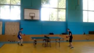 Настольный теннис. Финал 6-го тура в Высшей Лиге