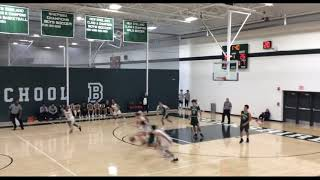 Alex Karras Berkshire School Varsity Basketball Highlights 2017/18