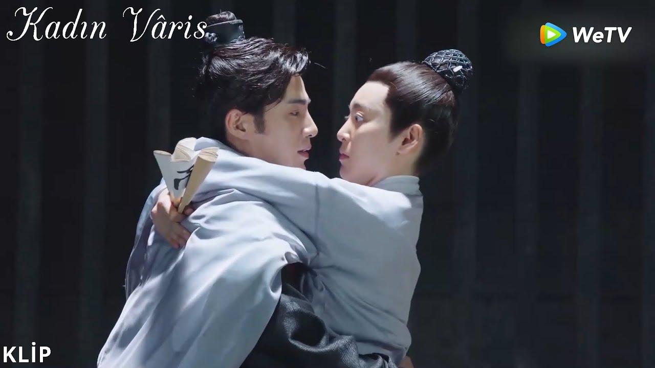 Kadın Vâris   10 Klip     Han Shi Yi korkudan Beşinci Prens'in kucağına atladı   The Heiress   女世子