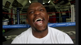 'F***** COWARDS!'- DILLIAN WHYTE RAW! - ON JOYCE CALLING HIM OUT, HAYE, WILDER, BELLEW, ORTIZ, PULEV