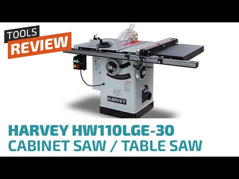 Super Unboxing & Review Harvey HW110LGE-30 Table Saw - YouTube CC-97