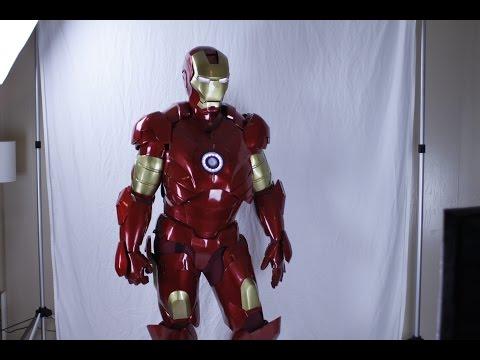 Iron Man Build Time-lapse