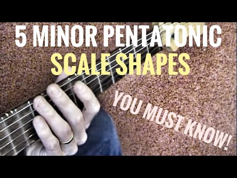 The 5 Pentatonic Scale Shapes You Must Know