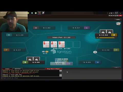 How To Double Up On Micro Stakes Online Poker In One Hour On Ignition Casino