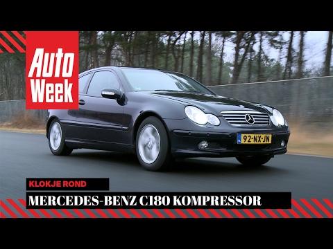 Mercedes-Benz C180 Kompressor Sportcoupé - 2004 - 271.623 Km - Klokje Rond