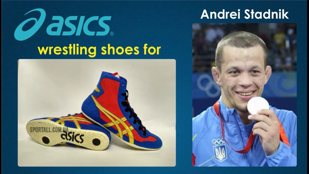 asics wrestling shoes japan youtube