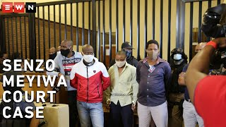 Five men accused of killing Bafana Bafana and Orlando Pirates soccer player Senzo Meyiwa in 2014 appeared in the Boksburg Magistrates Court on 5 March 2021. The case against the suspects was transferred to the High Court sitting in Palm Ridge for trial.