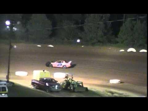 Crowley's Ridge Raceway 7/19/14 #21 Chris Sims Street Stock Heat Race