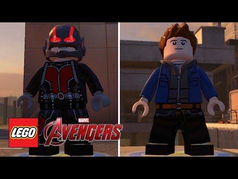 LEGO Marvel's Avengers  AntMan Scott Lang Free Roam