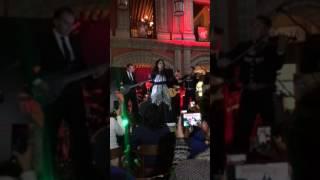 Nadia Presentación del Disco Bésame Mucho en Sanborns Conde de Xala