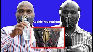 Yiino Mask munywa Beer. Museveni gulaawo Amabbala