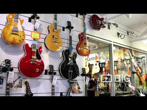 Guitar Centre at Gabba a Guitar Store in Brisbane offering wide selections of Guitar