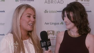 Singer/songwriter Chloe Agnew chats w/ Brigid Boden / IrishETV