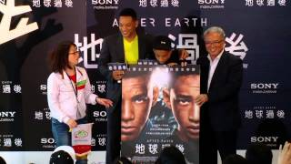 After Earth - Evento en Taipei - Ya en cines