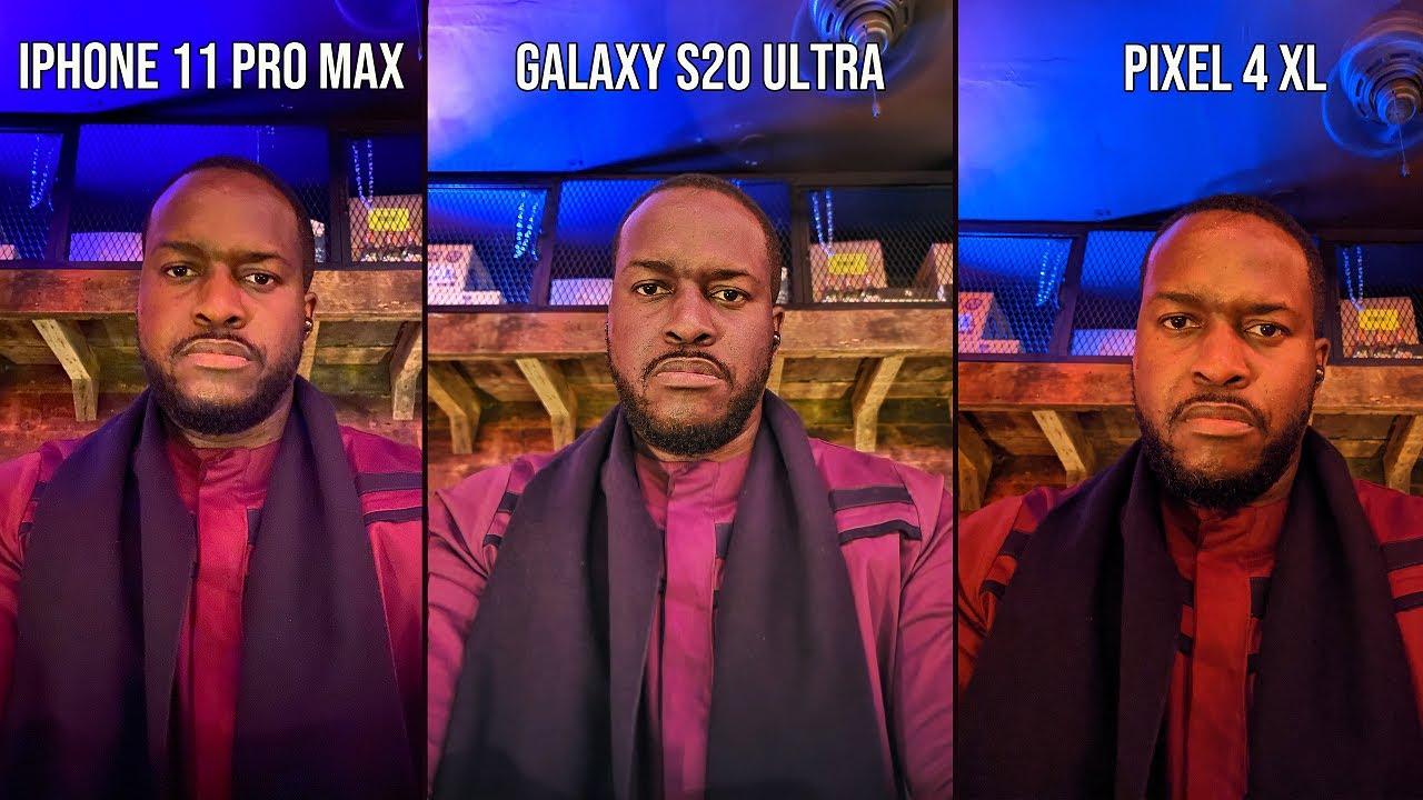 Photo of Galaxy S20 Ultra vs iPhone 11 Pro Max vs Pixel 4 XL  Night Mode Camera Comparison! – ايفون
