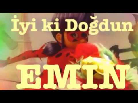 İyi ki Doğdun EMİN :)  Komik Doğum günü Mesajı 1. VERSİYON ,DOĞUMGÜNÜ VİDEOSU Made in Turkey :) 🎂