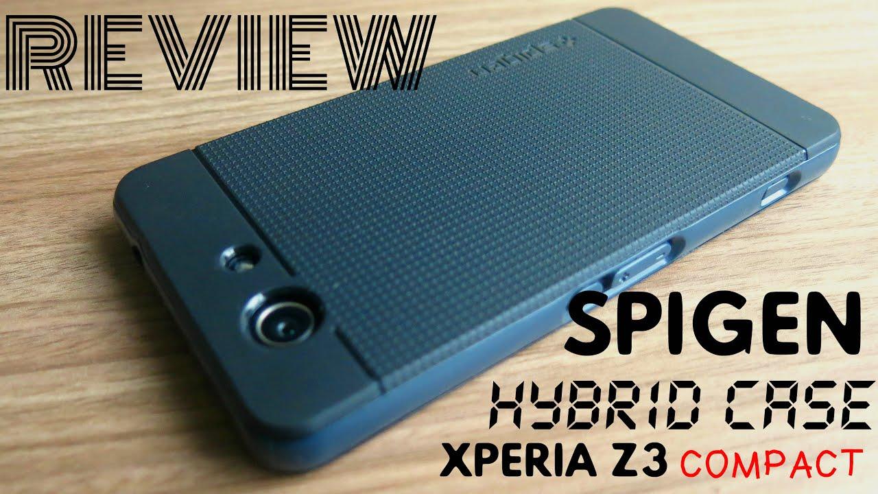 newest 25632 d9eae XPERIA Z3 COMPACT (HYBRID CASE SPIGEN) - REVIEW ALIEXPRESS