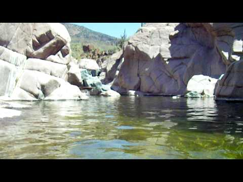Underwater Video Footage Canyoneering the Jug Outside Phoenix, AZ