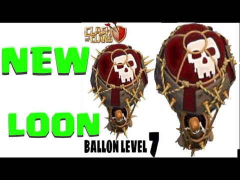 Clash Of Clans NEW Level 7 Balloons! LVL 7 Loons Idea NEEDED VOTE NOW
