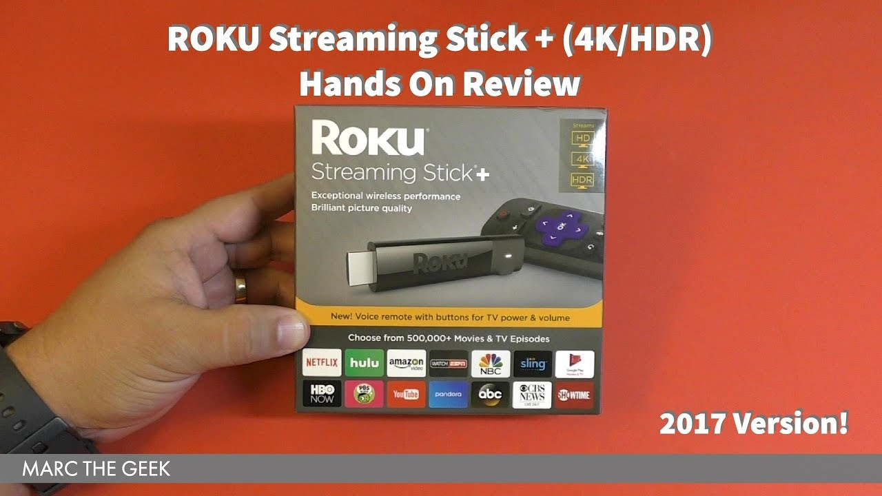 ROKU Streaming Stick + (4K/HDR) Hands On Review