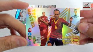 UNBOXING: 5 Sobres Adrenalyn XL Fifa World Cup Brasil 2014 (Nordic Edition) [2]