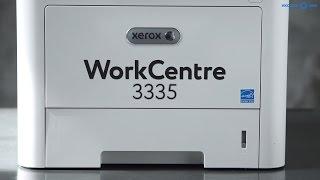 Обзор МФУ XEROX WorkCentre 3335 в 4k