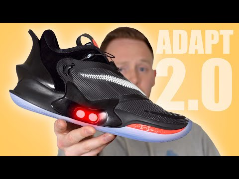 Nike ADAPT BB 2.0 Auto Lacing Sneaker Unboxing & REVIEW