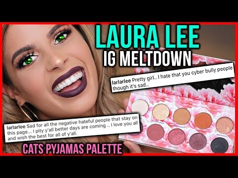 LAURA LEE COMES FOR GIRL OVER EYESHADOW PALETTE CRITIQUE | Cat's Pyjamas makeup