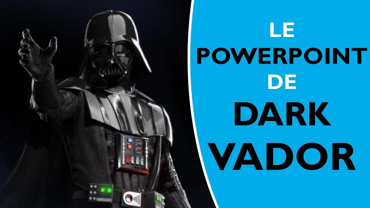 Le c t obscur de powerpoint star wars dark vador et luke skywalker youtube - Visage de dark vador ...