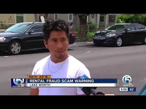 Alleged rental scam busted, according to the Palm Beach County Sheriff's Office