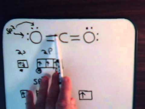 Organic Chemistry Video #7: Resonance - Example 4 Carbon Dioxide