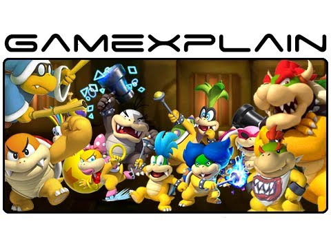 All 18 Boss Fights: Boom Boom, Kamek, Koopaling, Bowser Jr, & Bowser in New Super Mario Bros. U