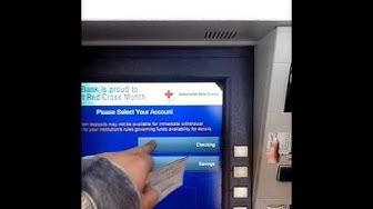 Us Bank ATM Check Deposit
