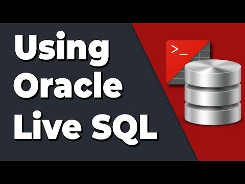 How To Use Oracle Live SQL?