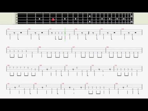 Guns N' Roses - Sweet Child O' Mine (Bass Cover) (Bass Tab)