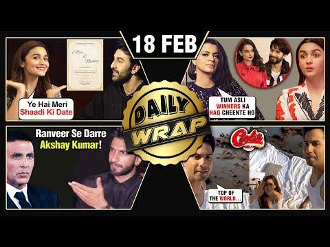 Rangoli SLAMS Alia Again, Akshay SCARED Of Ranveer, Ranbir - Alia Marriage Date | Top 10 News
