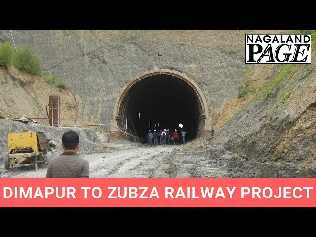 Tunnel number 1 of Dimapur to Zubza Railway Project