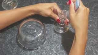 Diy Glass Organizer For Dresser