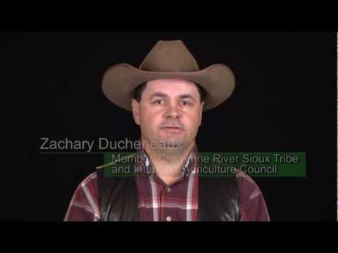 NASS PSA Zachary Duckeneaux, Member, Cheyenne River Sioux Tribe and Intertribal Agriculture Council