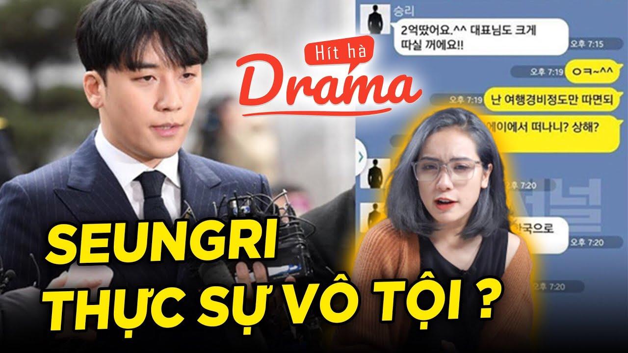 Seungri bị oan và chúng ta bị truyền thông dắt mũi ? – Hít Hà Drama