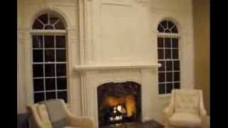 Fireplace Mantle And Overmantle