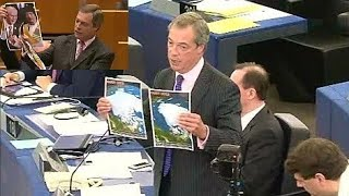 Nigel Farage Rips the E.U apart with facts and evidence.