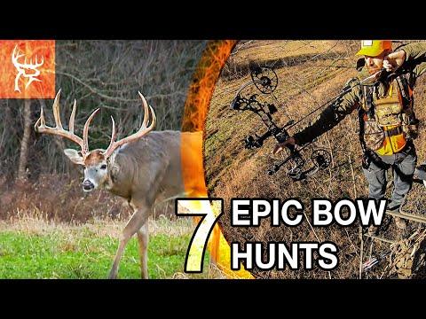 15 BOW HUNTS IN 7 MINUTES | BUCK COMMANDER
