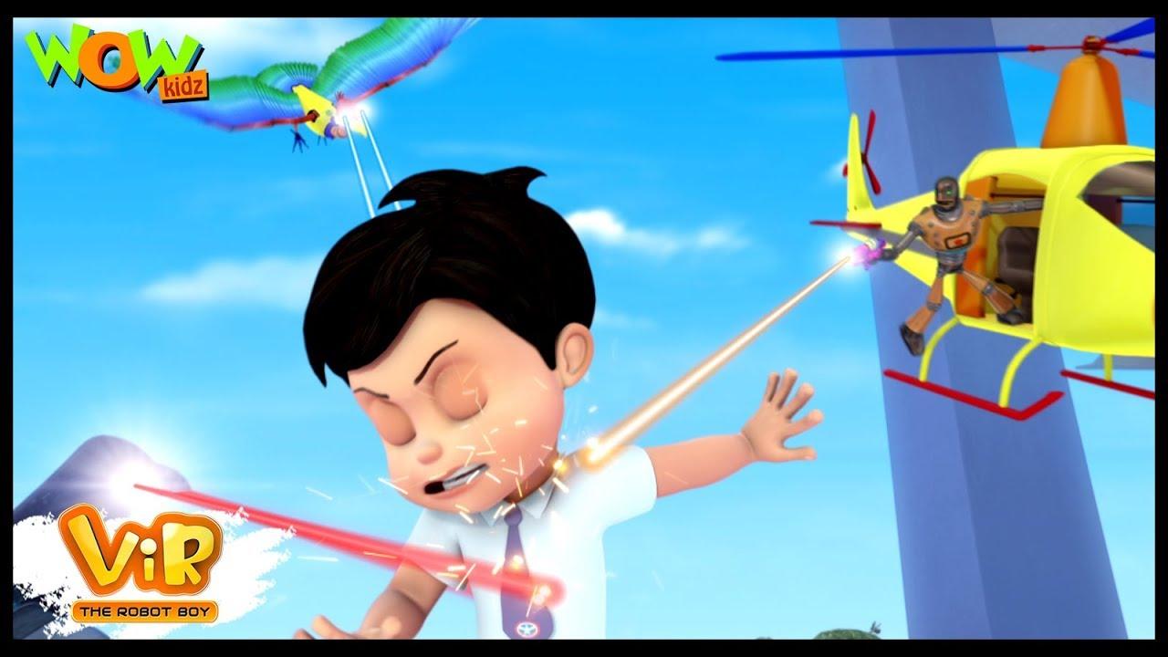 Vir The Robot Boy | Hindi Cartoon For Kids | Vir vs toy robots | Animated Series| Wow Kidz